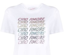 """T-Shirt mit """"Ciao Amore""""-Print"""