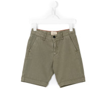 Shorts mit Logo-Patch - kids