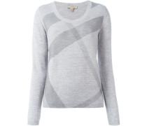 - Karierter Pullover - women