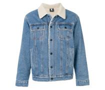 Kontroll shearling denim jacket