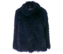concealed fastening fur jacket