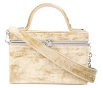 Mini 'Ava' Seidensamt-Handtasche