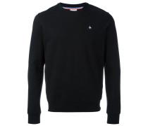 Sweatshirt mit Logo-Schild - men