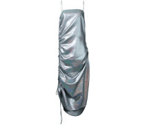 Camisole-Kleid im Metallic-Look