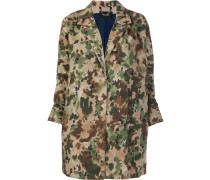 painted camouflage coat