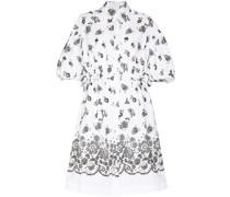 Hemdkleid mit Blumen-Print