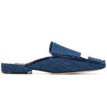 Slipper aus Jeansstoff
