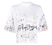 T-Shirt mit Farbspritzern