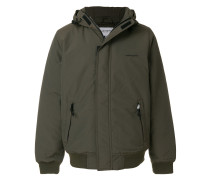 concealed hooded jacket