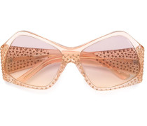 Sonnenbrille mit Swarovski-Kristallen