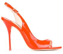 'Claudie Neon Orange' Pumps mit Slingback-Riemen