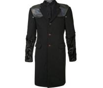 Mantel mit Schulterpolstern