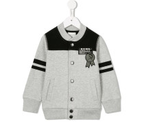 Cardigan mit Patch - kids - Baumwolle/Polyester