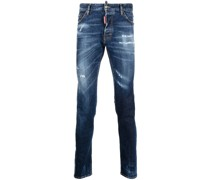 'Cool Guy' Jeans in Distressed-Optik