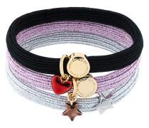 heart star pony bracelet