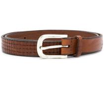 woven detail belt