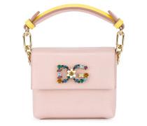 Mini Pink Leather DG Millennials bag