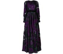 Jacquard-Kleid aus Lamé