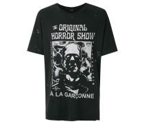 T-Shirt mit Frankenstein-Print