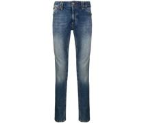 wrinkle effect jeans