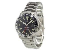 'Seamaster 50th Anniversary GMT' analog watch