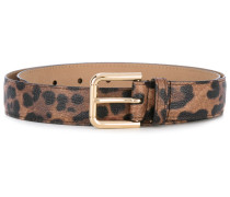 - leopard print belt - women