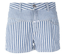 Gestreifte Shorts - women