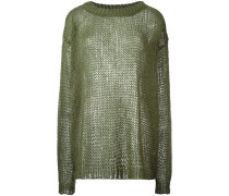 Semi-transparenter Mohairpullover - women