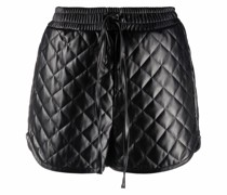 quilted short shorts