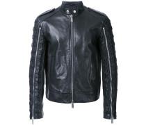 lace-up sleeve jacket