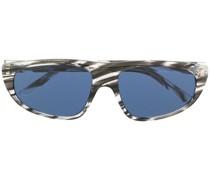 Sonnenbrille mit Zebrastreifen
