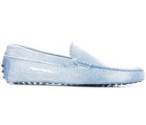 'Gommino' Loafer aus Denim