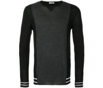 Pullover mit Kontrastfront