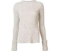 Gerippter Pullover - women - Polyamid/Wolle - L