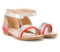 Sandalen mit Knöchelriemen - kids - Leder - 31