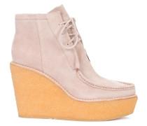 Geschnürte Plateau-Schuhe