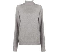 Oversized-Pullover mit Rollkragen