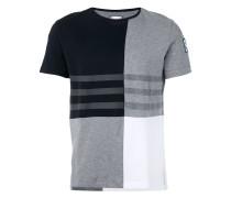 T-Shirt in Colour-Block-Optik - men - Baumwolle
