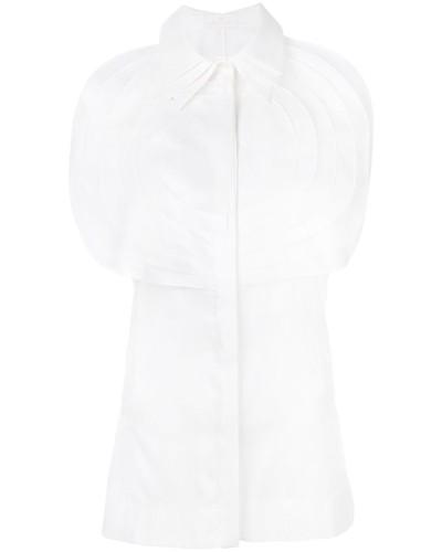Hemd mit plissiertem Latz