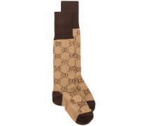 Socken mit GG Muster