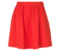 gathered skater skirt