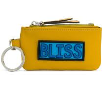 Bliss zipped wallet