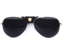 Sonnenbrille mit Medusa-Detail - unisex