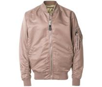ruched bomber jacket