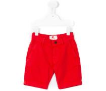 Chino-Shorts mit Umschlag