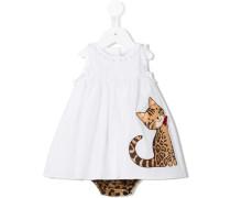 Kleid mit Katzen-Patch