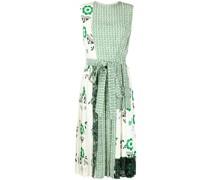 Kleid im Patchwork-Design