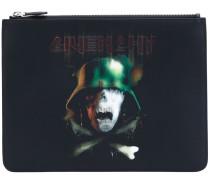 Portemonnaie mit Totenkopf-Print