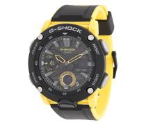Zweifarbige Armbanduhr