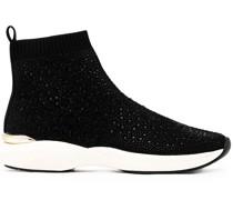 Jibberish Bling Sock-Sneakers